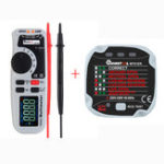 New MUSTOOL MT92 6000 Counts True RMS Handheld Multimeter + MUSTOOL MT01ER Socket Tester Leakage Switch Tester
