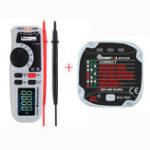 New MUSTOOL MT92 6000 Counts True RMS Handheld Multimeter + MUSTOOL MT01ER Socket Tester Leakage Switch Tester
