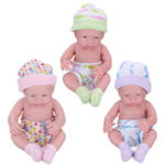 New Newborn Baby Dolls Gift Toys Soft Vinyl Silicone Lifelike Newborn Kids Toddler Girl