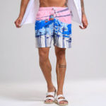 New Mens Summer Hawaiian Printing Shorts