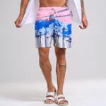 New Mens Summer Hawaiian Printing Shorts