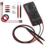 New ANENG AN8002 Red Digital True RMS 6000 Counts Multimeter AC/DC Current Voltage Frequency Resistance Temperature Tester ℃/℉ + Test Lead Set