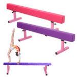 New 1.8M 6ft High Gymnastics Balance Beam Gym Airtrack Fitness Training Exercise Tools Equipment