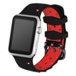New KALOAD 44mm Silicone Bracelet Strap Replacement Sports Watch Band for Apple Watch 4