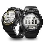 New Bakeey S816 Three Proofings 24-hour Heart Rate Outdoor 6 Sport Mode Smart Watch 5ATM Shock-resistant Compass 30 Days Standby