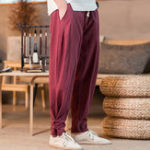 New Mens Loose Harem Pants