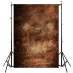 New 5 x 7 Inch Abstract Brown Studio Vinyl Photography Backdrop Prop Photo Backdrops Background