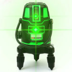 New 360° 5 Line 6 Points Green Light Laser Level Rotary Laser Line Outdoor Cross Self Level 3D