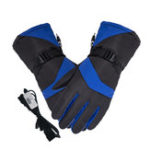 New 48V Electric Rechargeable Battery Powered Touchscreen Winter Warm Motorcycle Heated Gloves