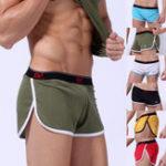 New Mens Mesh Breathable Sport Boxers Shorts Sleepwear Underwear