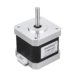 New HANPOSE 17HS4401 40mm Nema 17 Stepper Motor 42 Motor 42BYGH 1.7A 40N.cm 4-lead For CNC 3D printer