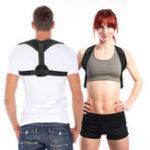 New KALOAD Back Support Posture Corrector Breathable Adjustable Pain Relief Belt Sitting Back Corrector