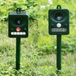 New Solar Power Ultrasonic Signal Animal Pet Cat Dog Bird Repeller Outdoor Repellent