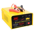 New RT002 12V 24V 200AH Intelligent Pulse Repair LED Display Voltage Automatic Identification Car Battery Charger