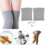 New KALOAD 1 Pair Knee Electrode Tens Pads Electronic Pulse Shock Massager Leg Muscle Pain Relief Safety Gear