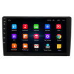 New 9 Inch Android 8 Quad Core Touch 2 DIN Car Stereo Radio Bluetooth WIFI GPS Nav Video MP5 Player