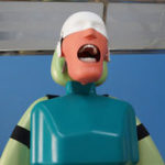 New Dental Simulator Manikin Phantom Head Teeth Tooth Model Training Medical Model