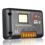 New Solar Charge Controller 15A LCD Display Controller Solar Controller For PWM Solar Power Panel Water Pump