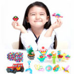 New 4500Pcs/Set 24 Colors Water Mist Magic Beads DIY Toys For Children Animal Molds Hand Making Puzzle Kids Educational Jewelry