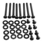 New Water Cooling Radiator Fitting Screws Fan Mounting Screw Kit for Corsair Water Cooling
