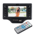 New 5V 4.3 Inch Bluetooth 4.0 TFT Screen MP5 Decoder Board APP APK FM Audio Video Remote Control Car Speaker