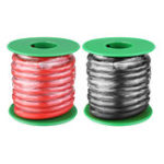 New 4M 10AWG Soft Silicone Wire Cable High Temperature Tinned Copper