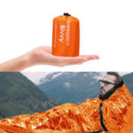 New PE Aluminum Film Sleeping Bag 1 People Outdoor Camping Waterproof Sleeping Pad Portable Folding Sleeping Mat