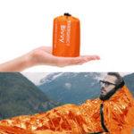 New PE Aluminum Film Sleeping Bag 1 People Outdoor Camping Waterproof Sleeping Pad Portable Folding Sleeping Mat