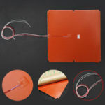 New 750W Silicone Pad Heater 3D Printer Thermistor 330x330mm Heated Bed Pad