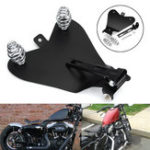 New 3inch Solo Spring Mounting Kit & Motorcycle Seat Baseplate Bracket For Harley Bobber Chopper