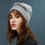 New Women Outdoor Winter Thicken Ski Beanie Cap