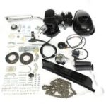 New 50cc 2-Stroke Gas Motorized Bicycle Petrol Black Engine Motor Air-cooling Bike Kit