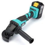 New Brushless Cordless Angle Grinder 18V Electric Angle Grinding Cutting Power Tool With 20000mAh Battery&Charger