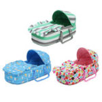 New Portable Newborn Baby Infant Moses Basket Bed Baby Cradle Bassinet Travel Comfortable