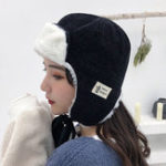 New Vintage Women Winter Warm Plush Earmuffs Trapper Hat