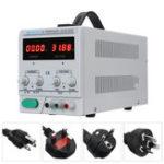 New LW-3010KDS Adjustable DC Power Supply 220V/110V 0-30V 0-10A Accuracy 0.01 Dual Display EU/UK/AU/US