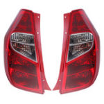New 12V Car Left/Right Tail Light Brake Trun Lamp Red for Hyundai i10 Mk1 Hatchback 11-14