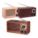 New 10W Retro FM Radio Bluetooth Speaker Wireless Stereo Bass Handsfree Outdoor With Mic Support USB FM Micro SD AUX