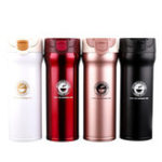 New 400ML Vacuum Cup Water Bottle Food Grade Stainless Steel Insulated Thermos Tea Coffee Drinking Mug