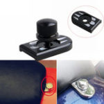 New Deep Cut Seat Bolt Tab Screw Mount Knob Cover Black For Harley Touring Dyna Sportster