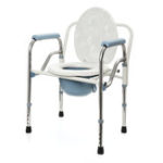 New Foldable Commode Toilet Safety Chair