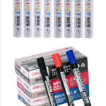 New Deli Permanent Marker White Paint Marker Pen Assorted Colors Markers Stationery school & office Supplies