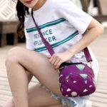 New Women Galaxy Pattern Nylon Waterproof Shell Bags