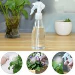 New Plastic 200ml Clear Empty Spray Bottles Hand Trigger Sprayer For Gardening Salon