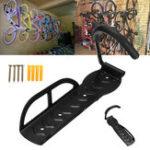 New BIKIGHT Bicycle Wall Hanging Rack Hook Garage Storage Stand Mount Bike Hanger Space Save Max Load 30kg
