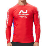 New Men's Long Sleeve Swimsuit Rashguard Surf Shirt