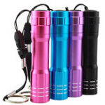 New 3W 1 Modes Flashlight Waterproof AA Battery LED Purple Light Outdoor Camping Hunting LED Lamp