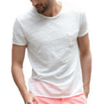 New Mens Cotton Breathable Soft Comfy Crew Neck T-shirts Tees