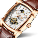 New TEVISE T802B Business Style Automatic Mechanical Watch