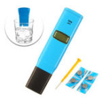 New Wattson TDS98301 1ppm Resolution Conductivity Test Pen Conductivity PH Meter Water Detecting Instrument